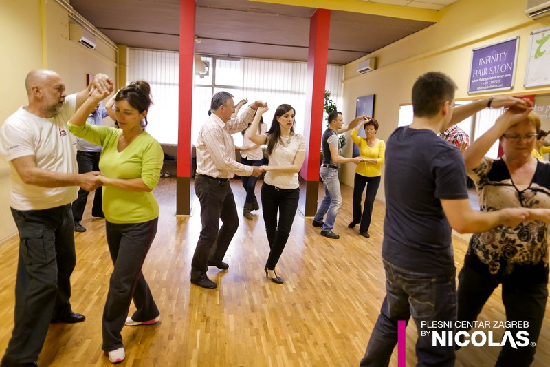 Početni tečaj plesa s Nicolasom