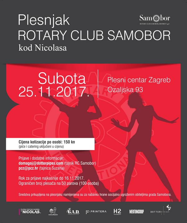 Rotary club, plesnjak kod Nicolasa