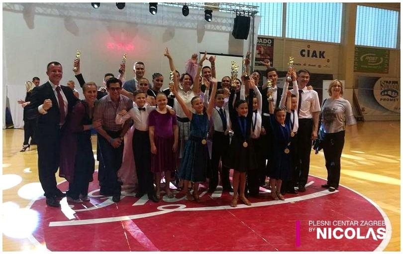 Sportski Plesni klub Zagreb osvojio čak 15 medalja na državnim prvenstvima u 2017. godini