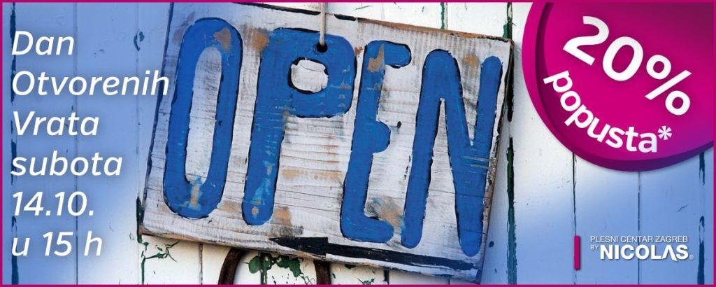 Dan otvorenih vrata u subotu 14.10.