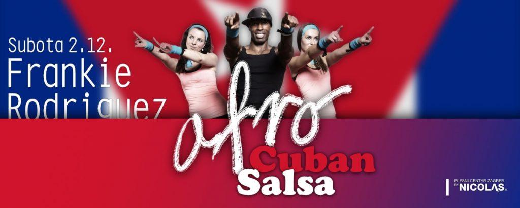 Frankie Rodriguez & Afro Cuban Salsa radionica