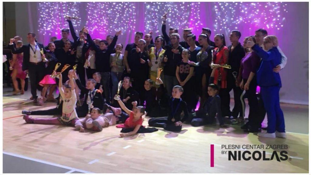 SPK Zagreb osvojio najviše medalja na Prvenstvu RH u sportskim LA plesovima