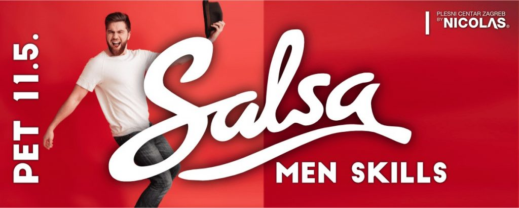 Salsa Men Skills plesna radionica