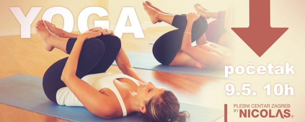 Yoga - Joga u plesnom centru Zagreb by Nicolas