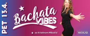 Bachata vibes plesna radionica - Plesni centar Zagreb by Nicolas