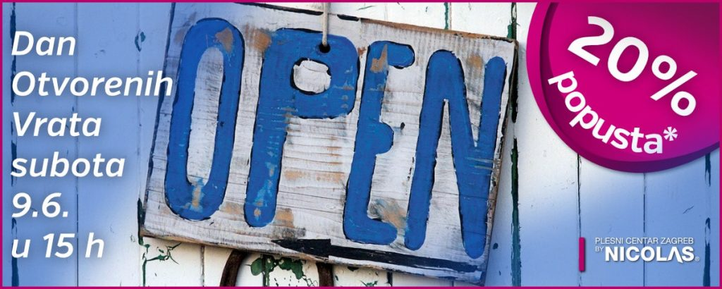 Isprobajte besplatno - Dan Otvorenih Vrata Plesnog centra zagreb by Nicolas