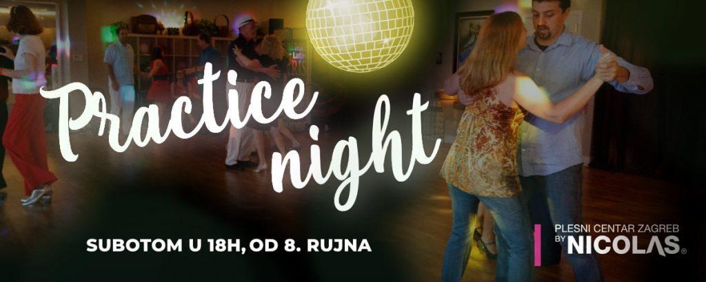Practice night - Plesna rekreacija u plesnom centru Zagreb by Nicolas