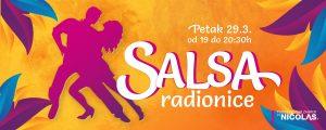 banner Salsa - radionica salse