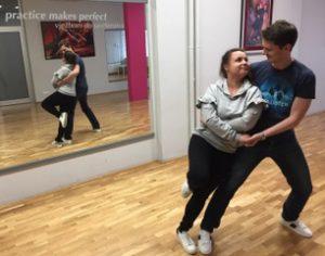 Ivan i Željka - mladenci - plesni tečaj u PCZ by Nicolas