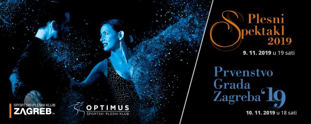 Plesni spektakl 2019 u organizaciji Plesnog centra Zagreb i Plesnog kluba Optimus